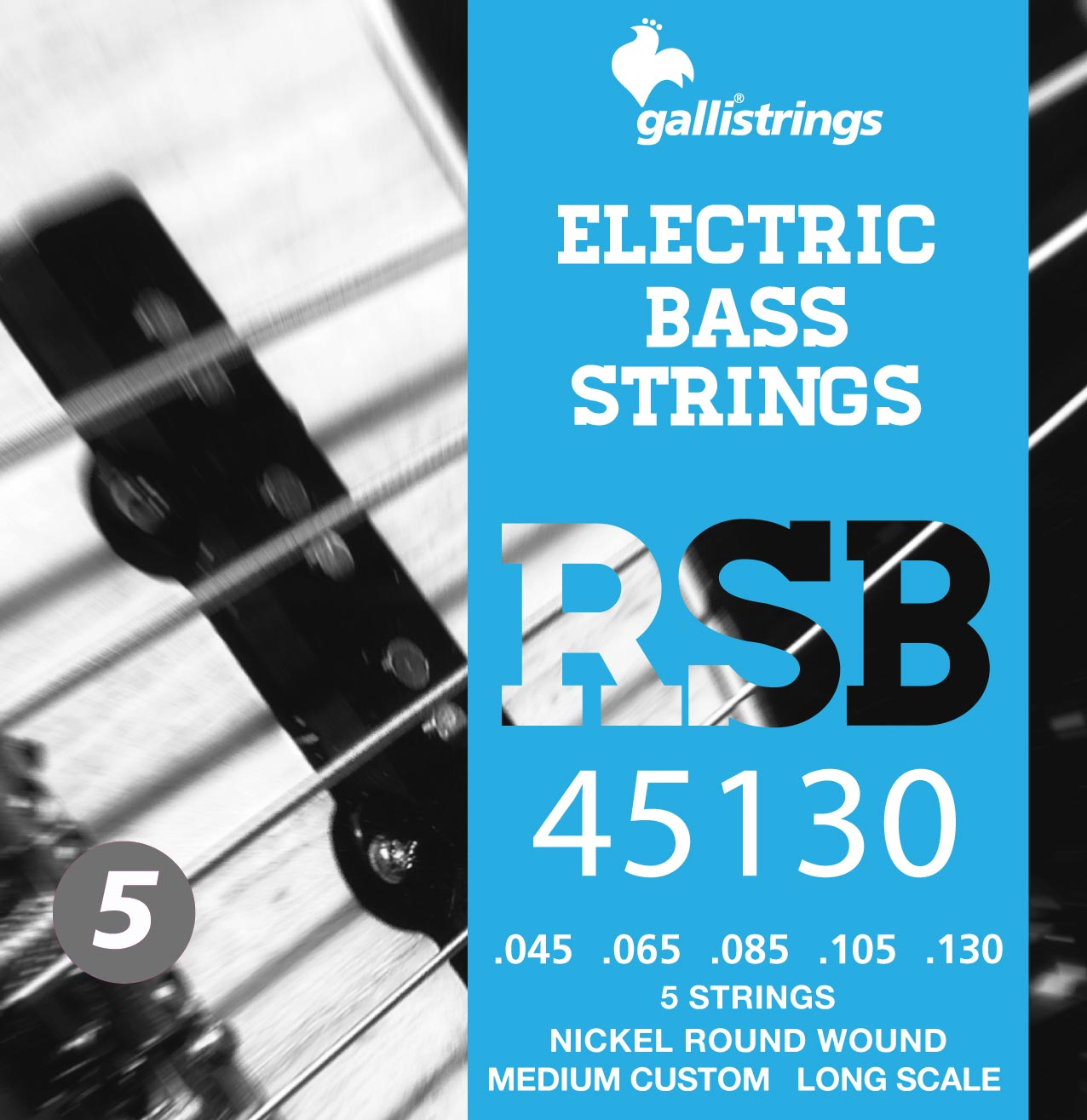 RSB45130 5 strings Medium Custom
