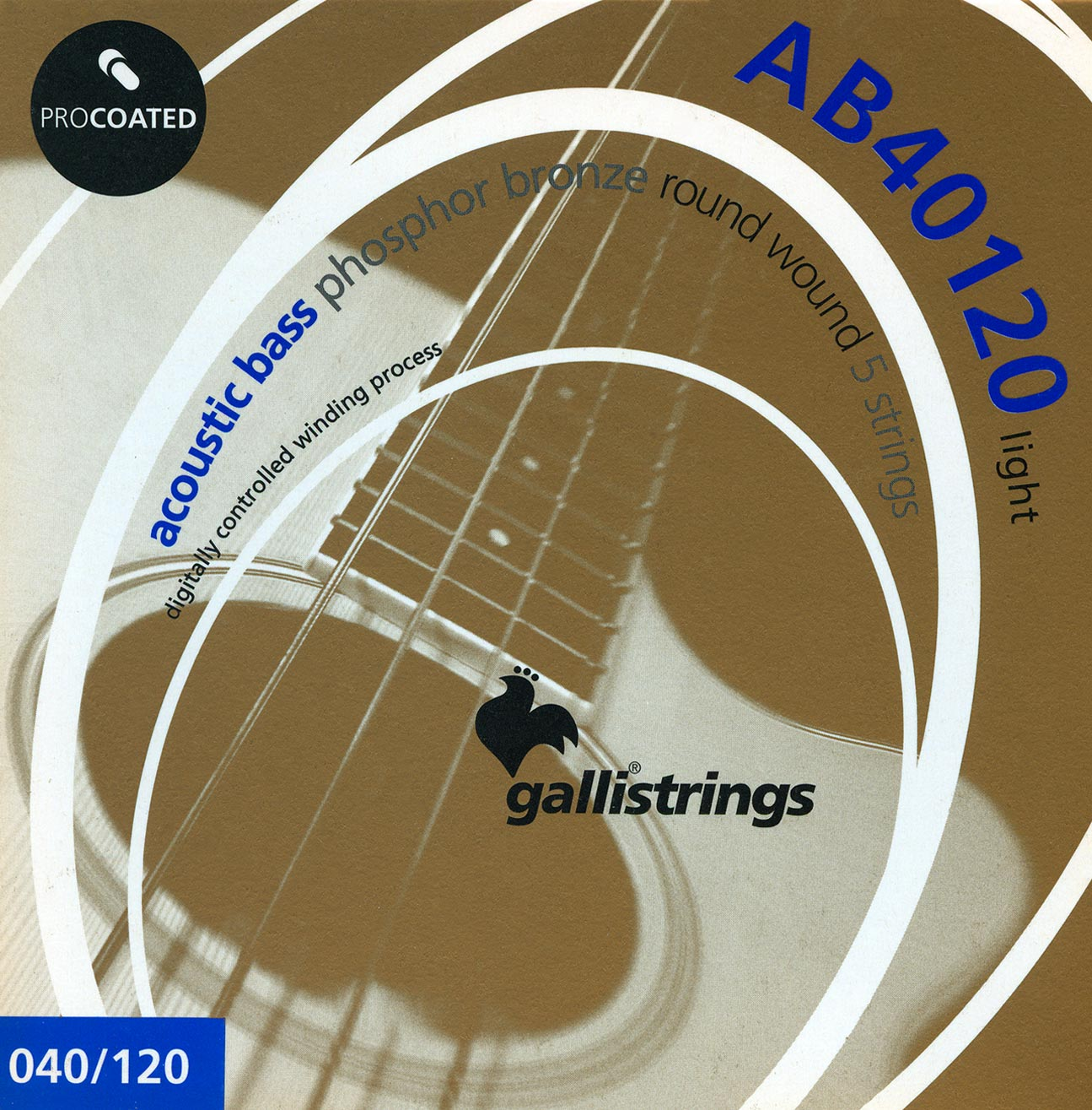 AB40120 Light - 5 strings