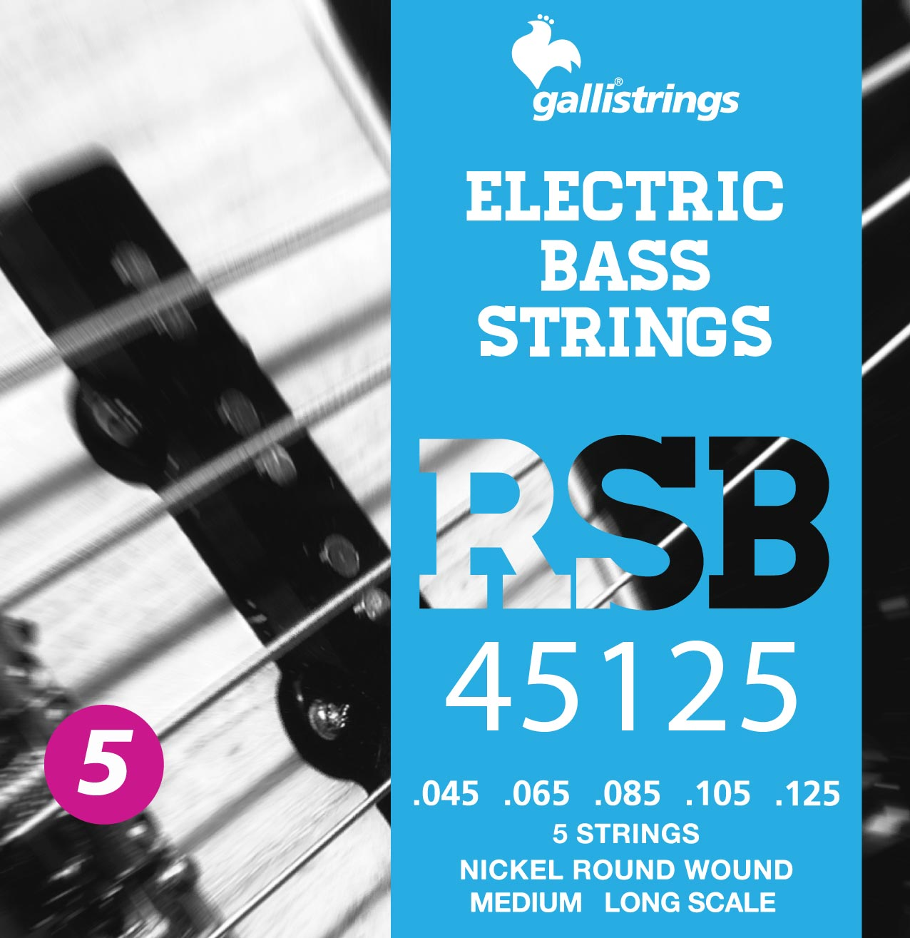 RSB45125 5 strings Medium