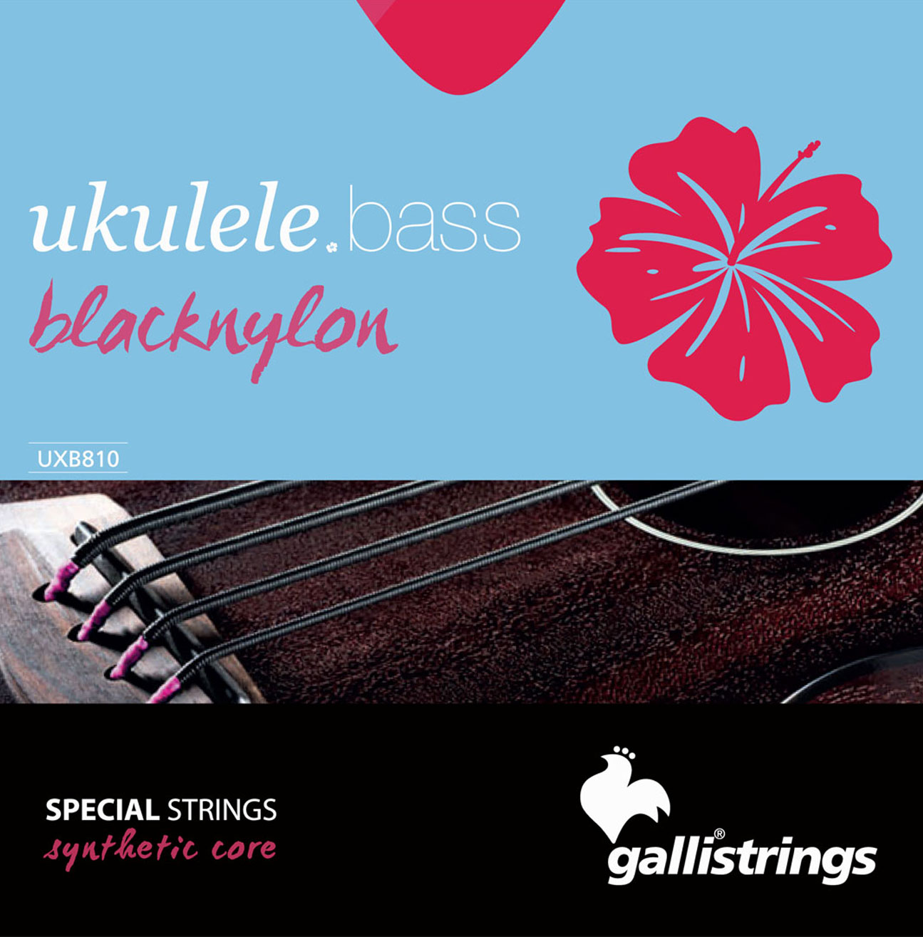 UXB 810 Blacknylon Special Strings